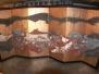 Restauration de 2 paravents japonais en papier,XIXème