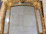 Restauration d'un miroir doré Régence