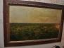 Restauration d'une huile sur toile XIXème, Ain